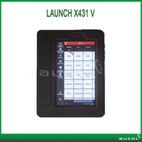 Wholesale 2014 New Arrival Launch X431 V X431V Global Version Universal Scanner For Many Cars With Bluetooth Wifi and Touch Screen
