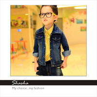 Jackets Unisex Spring / Autumn Cool Style Children's Denim Jackets Boy's Spring Fashion Coats Baby's Korean jackets Kid's Casual Clothing Girl's New Arrival Clothes coats