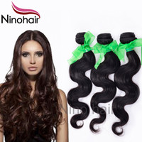 Wholesale Remy Brazilian Hair Bundle Cheap Body Wave Virgin Hair Extension g Natural Human Hair Double Weft Stema Hair Weave A Grade