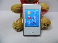 Touch Screen wholesale e book - 7th gen gb g g internal memory mp4 player with fm radio e book touch screen mp4 player with accessories DHL