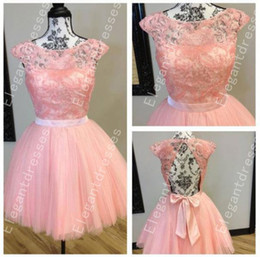 Best Selling 2019 Beautiful Exquisite Beaded Cap Sleeves Short Prom Dresses Formal Special Occasion Party Gowns Custom Vestidos Evening Gown