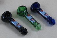 Wholesale S002 Dichroic glass ornament on display pipe CM
