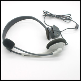 Wholesale Earphone Headphone Headset with Mic Microphone For XBOX XBOX360 Live