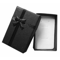 Wholesale wholesales cloud paper jewelry display box for black color PB B