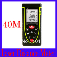 Wholesale RZ40 m ft Laser distance meter with bubble level Rangefinder Range finder Tape measure MOQ