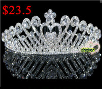 Cheap Tiaras&Crowns bridal crowns Best Rhinestone/Crystal  Hair combs