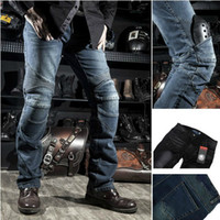Wholesale 2014 New Moto Racing pants trousers KOMINE dimensional cut car service motorcycle jeans pants motorcycle pants Slim Straight Cotton Flax