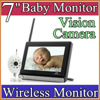 Wholesale Baby Monitor Monitor Buddy Wireless Inch Widescreen LCD Night Vision Camera JSQ