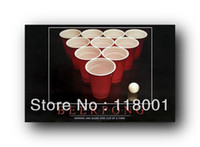 beer pong cup - by china post hot selling beer pong sets red cups and white balls