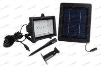 Wholesale LLFA4239 New Outdoor SMD LED Solar Powered Floodlight Garden Lawn Landscape Light Lamp Waterproof