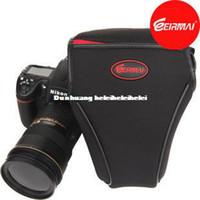 Neck Straps Nylon Lens Cases Rhema camera bag 600D 650D 60D 700D 7D 70D shock thick sleeve triangle bag