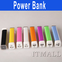 all cellphone Emergency Chargers  Colorful 2600mah Portable power bank external battery charger for Samsung S4 s3 Iphone 5 4s HTC mobiles all mobiles