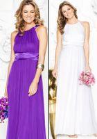 Pleats bella rose - Bella Rose KB4611 Light Lavender Bridesmaid Dress Sheath Bateau Satin Belt Chiffon Ankle Length Zipper Sassy Bridal Party Dress Prom Dress