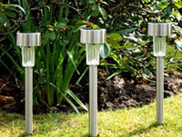 Wholesale Led Lawn Lamp Stainless Outdoor Color Changing LED Solar Landscape Light Garden Lawn Lamp