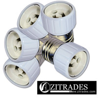 Wholesale ZITRADES TM UL listed E26 E27 Edison Screw to GU10 Bayonet Base Adapter
