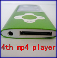 Wholesale 1 TFT screen mp3 mp4 player gb memory flower key portable fm radio mp4 player
