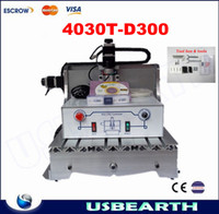 Wholesale Free of tax to Russia CNC T D300 engraving machine CNC router milling machine applicable for cutting wood MDF etc