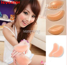 Wholesale Silicone Bra Push Up Invisiable Inserts Breast Enhancers Pads Push Up Inwards by DHL