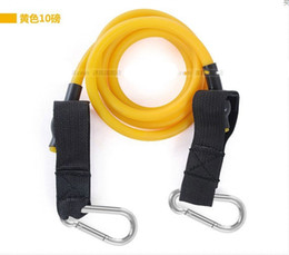 Wholesale Yellow Pounds Exercise Workout Fitness Resistance Band Yoga Body Shape Stretch Double Latex