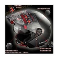 Wholesale Professional Motorcycle Helmet with Controable Internal Black Sunglass DOT ECE NBR AS NZS Approved LS2 OF