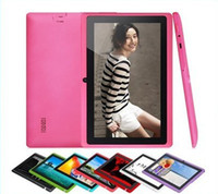 Wholesale Big promotion Allwinner A23 inch Dual core Q88 pro Tablet pc Android Dual cameras MID Ghz MG GB colorful