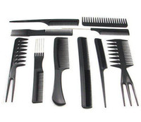 Wholesale set Salon Barbers Hair Styling Hairdressing hair accessories Plastic Comb Styli