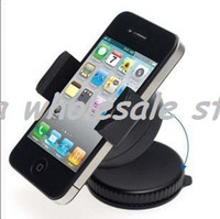 Wholesale High quality Universal Car Windshield Mount Holder Bracket for Mobile by DHL