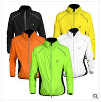 Breathable Unisex Polyester Cycling Jersey 2014 New Tour De France Cycling Jacket Long Sleeve Moutain Bike Bicycle Jersey Cycling Jacket Size M-3XL Free Shipping