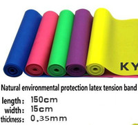 Wholesale New Resistance Exercise Band Fitness Crossfit Rehab Yoga Stretch Rubber Latex ytgfgt