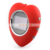 Wholesale Key Chain Style Digital Photo Frame inch Color CSTN LCD heart shaped