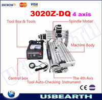 Wholesale mini desktop engraving machine CNC Z DQ axis upgrade from T T DJ Router Engraver Milling Drilling Machine