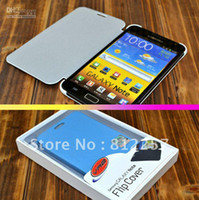Wholesale Flip Cover Skin Case Housing For Samsung Galaxy Note GT I9220 I9220 GT N7000 N7000 SGH