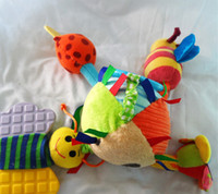 Wholesale chicco Crib toys rattle teether infant early development plush toy