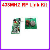 arduino rf transmitter receiver - 2pcs Mhz Wireless RF transmitter and receiver link kit for Arduino ARM MCU WL