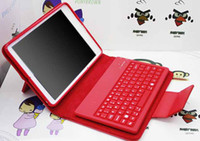Folding IPad & Tablet Bluetooth cheap and fine stand Leather case wireless Bluetooth Keyboard case for iPad mini Multi color with retail box Built-in wireless Bluetooth 2.0