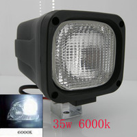 Wholesale 2PCS W V HID Xenon Work Light Flood light For SUV4X4 Truck Excavator Boat k