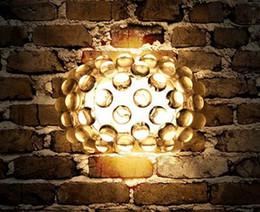 Wholesale Foscarini Caboche Wall Lamp Modern Design Light Wall Sconce Acrylic Ball Lighting