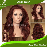 Wholesale 18 quot quot Lacefront synthetic Heat Friendly Wigs women hair wig Bodywave J s018