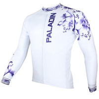 Wholesale New Cool Outdoor sport Men Long Sleeve Cycling Jersey clothes Bike Bicycle Wear Rider Apparel CX07