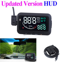 Wholesale ifound Updated nd Gen ActiSafety Multi Car HUD Vehicle mounted Head Up Display System OBD II Universal Overspeed Warning pc