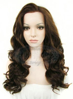 Wholesale 2014 Hair Wig Lace Front Wig Hook Headgear Rinka Hairdo style Hign temperature Resistance Fibre Density of Inch