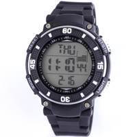 Wholesale Shhors watch multi function digital alarm stopwatch ATM hours date black sport casual fashion silicone watchband dropship