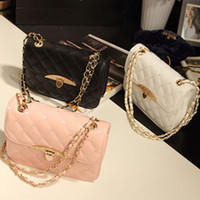 Wholesale 2013 New Korean Peach Heart Embroidered Handbag Diamond Lozenge Chain Bag Shoulder Bag Messenger Bag Hot Products