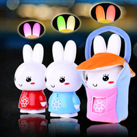 Wholesale Rabbit story machine pre teaching g6 rabbit child mp3 story machine