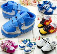 Wholesale New Arrival toddler shoes antiskid baby shoes casual kids shoes soft boy shoes newborn sneaker infant shoes pairs