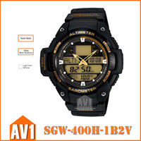 Wholesale Digital sport watch SGW H B2V SPORTS GEAR meter water resistance Twin Sensor measure temperature and air pressure