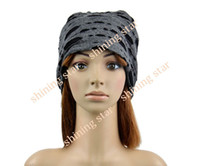 Wholesale New Men Women s Hip hop Unisex Chic Beanie Slouchy Top Hats Cap Colors Drop shipping
