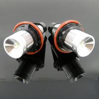 2PCS LED Angel Eyes Light 1\3\5\6\7\X Series E39 E60 E61 E63...