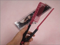Wholesale HIGH QUALITY brazilian keratin treatment hair straightening V comb easy styling tool