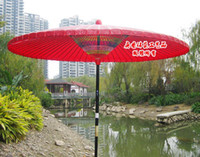 Wholesale Red paper umbrella mushroom umbrella outdoor wild umbrella gazebo coffee table decoration meters